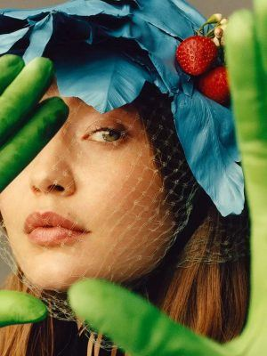Gigi Hadid in i-D Magazine - The Icons and Idols Issue - Spring 2020