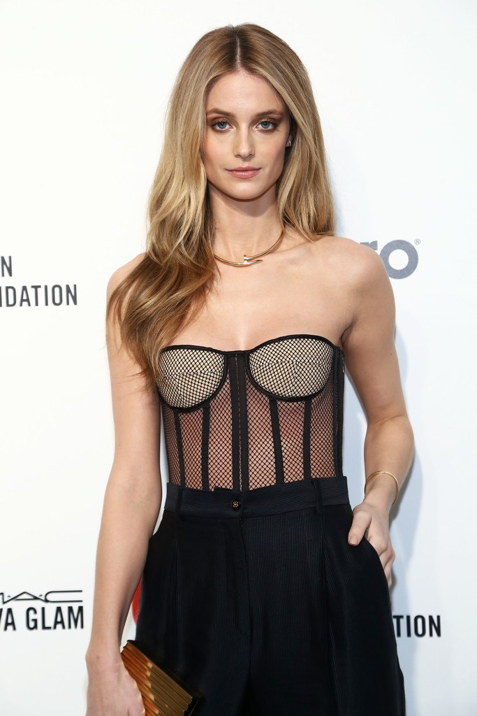 Kate Bock at Elton John AIDS Foundation Oscars Viewing Party in West Hollywood