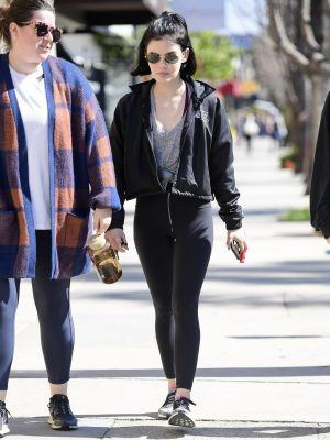 Lucy Hale Out and About in Los Angeles