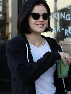 Lucy Hale Out After Workout in LA