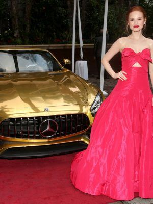 Madelaine Petsch at Mercedes-Benz Academy Awards Viewing Party in Beverly Hills