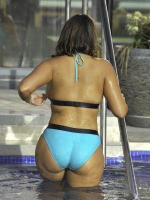 Malin Andersson Ass at Carden Park Spa The Day After Sharing Shock Domestic Violence Image