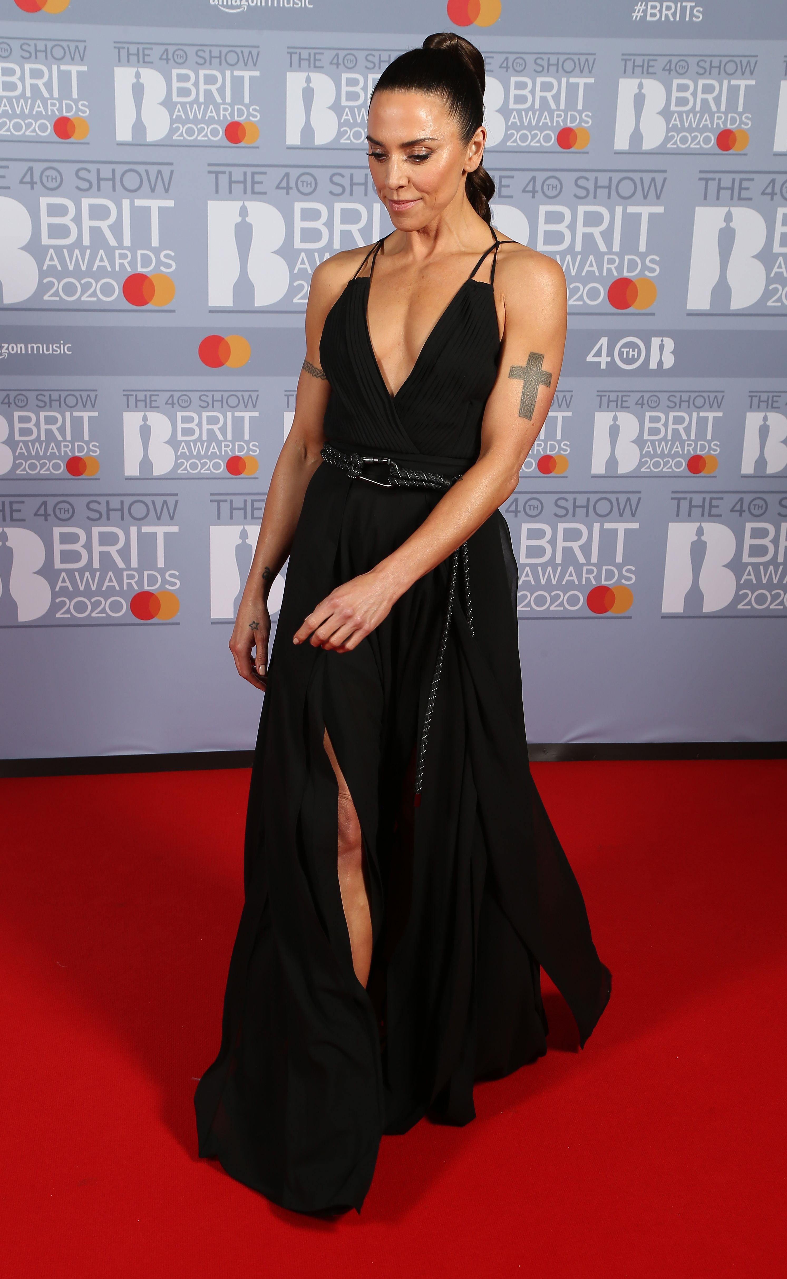 Melanie Chisholm at The BRIT Awards 2020 in London