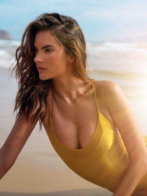Alessandra Ambrosio in Swimsuit Brand Gal Floripa's New Collection 'Yantra' 2020
