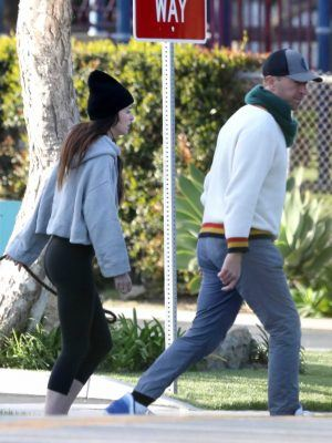 Dakota Johnson and Chris Martin Stepped Out in Malibu