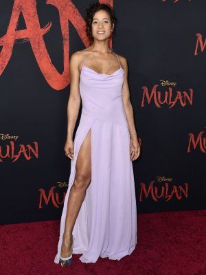 "Dania Ramirez at the Premiere of Disney's ""Mulan"" in Hollywood"
