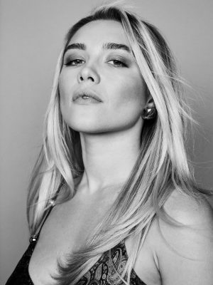 Florence Pugh in The Wrap by Marissa Mooney - March 2020