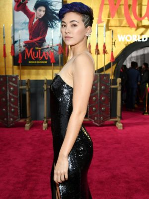 "Jessica Henwick at the Premiere of Disney's ""Mulan"" in Hollywood"