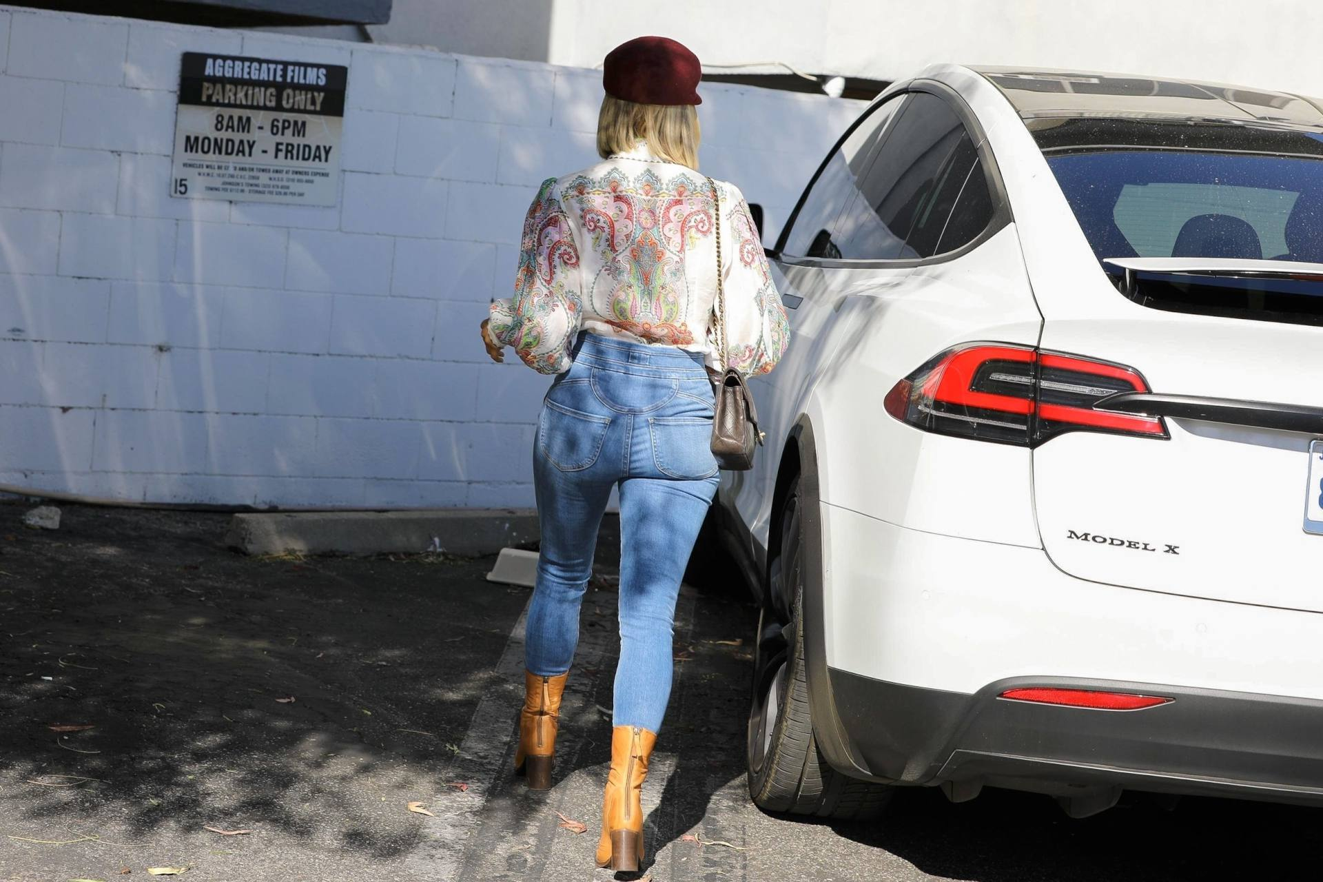 Julianne Hough Ass in Jeans Out in Los Angeles