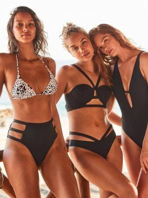 Lais Ribeiro, Jasmine Sanders and Alexina Graham in Victoria's Secret Bikini Photoshoot - February 2020