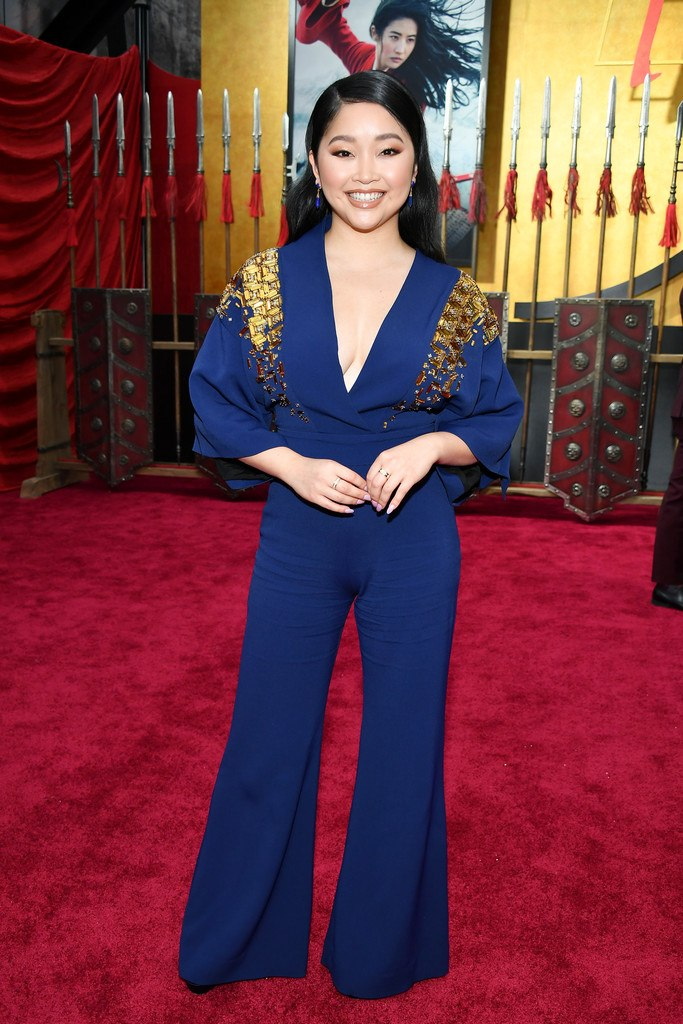 "Lana Condor at the Premiere of Disney's ""Mulan"" in Hollywood"
