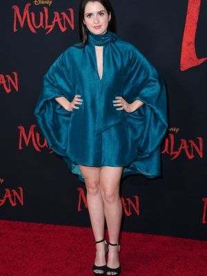 Laura Marano at the Premiere of Mulan in Hollywood