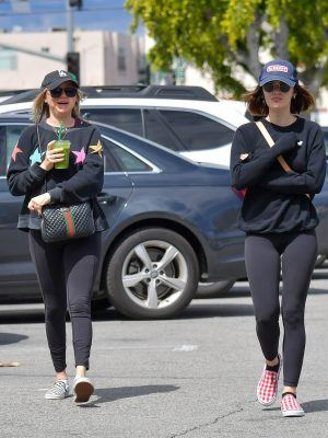 Lucy Hale getting Groceries in Studio City