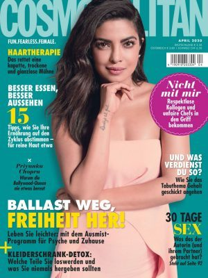 Priyanka Chopra in Cosmopolitan Magazine Germany April 2020 Issue