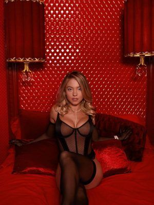 Sydney Sweeney Boobs in Sexy Lingerie for Savage X Fenty