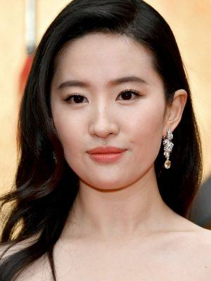 "Yifei Liu at the Premiere of Disney's ""Mulan"" in Hollywood"
