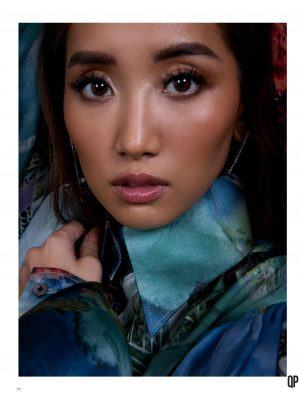 Brenda Song in QP Magazine - March 2020
