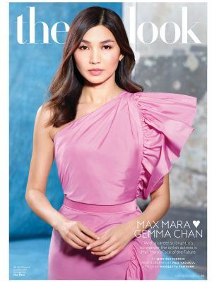 Gemma Chan in InStyle Magazine - May 2020