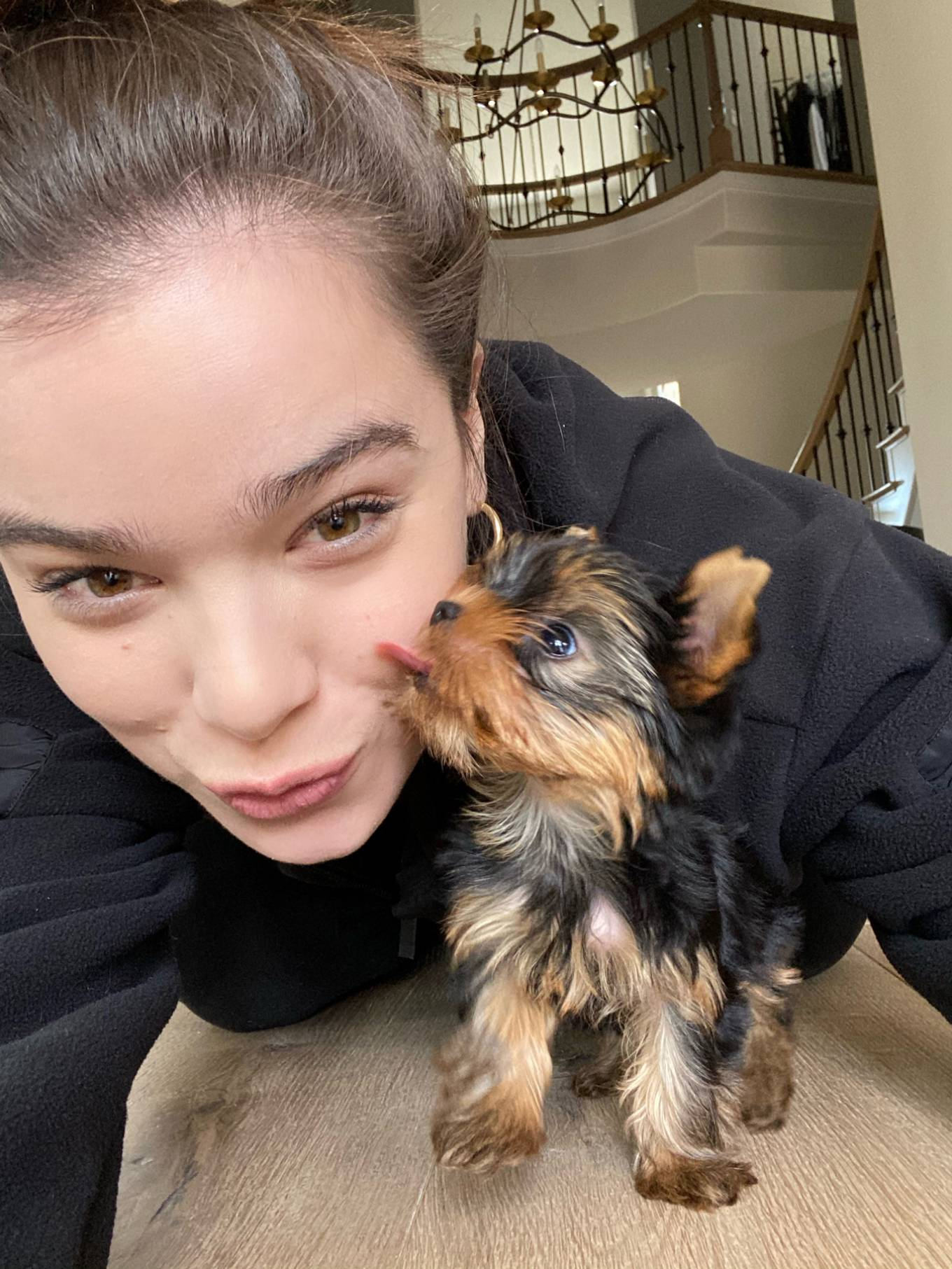 Hailee Steinfeld Selfie for Rolling Stone's 'Artists in Isolation'