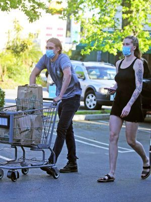 Ireland Baldwin Shopping at Whole Foods Today in Los Angeles