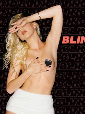 "Jordyn Jones Photoshoot for ""Blind"" Music Single Cover"