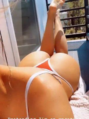 Kara Del Toro – Fantastic Ass in Tiny Thong Bikini