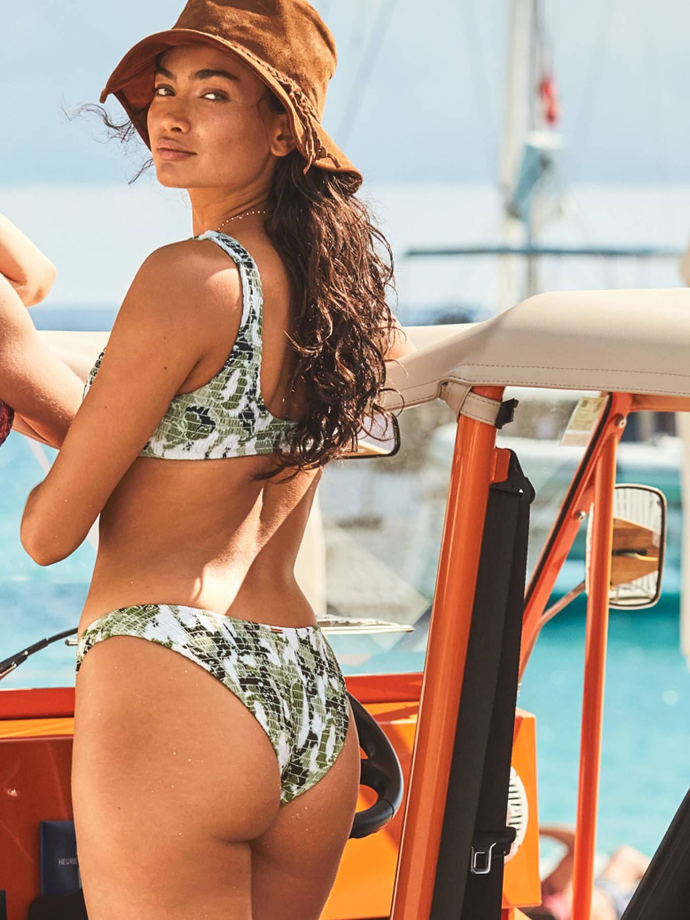 Kelly Gale in Victoria's Secret Swimwear Collection - April 2020