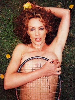 Kylie Minogue Ass in GQ Magazine Photoshoot by Terry Richardson July 2000