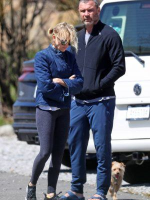 Naomi Watts Spotted while Stretching in The Hamptons