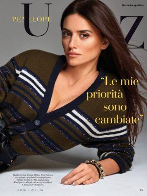 Penelope Cruz in iO Donna Magazine - April 2020