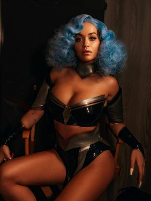 "Rita Ora Braless in ""How To Be Lonely"" Music VIdeo Promos"