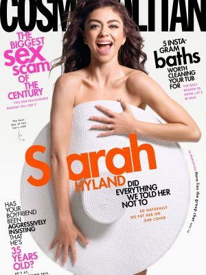 Sarah Hyland in Cosmopolitan Magazine - May 2020