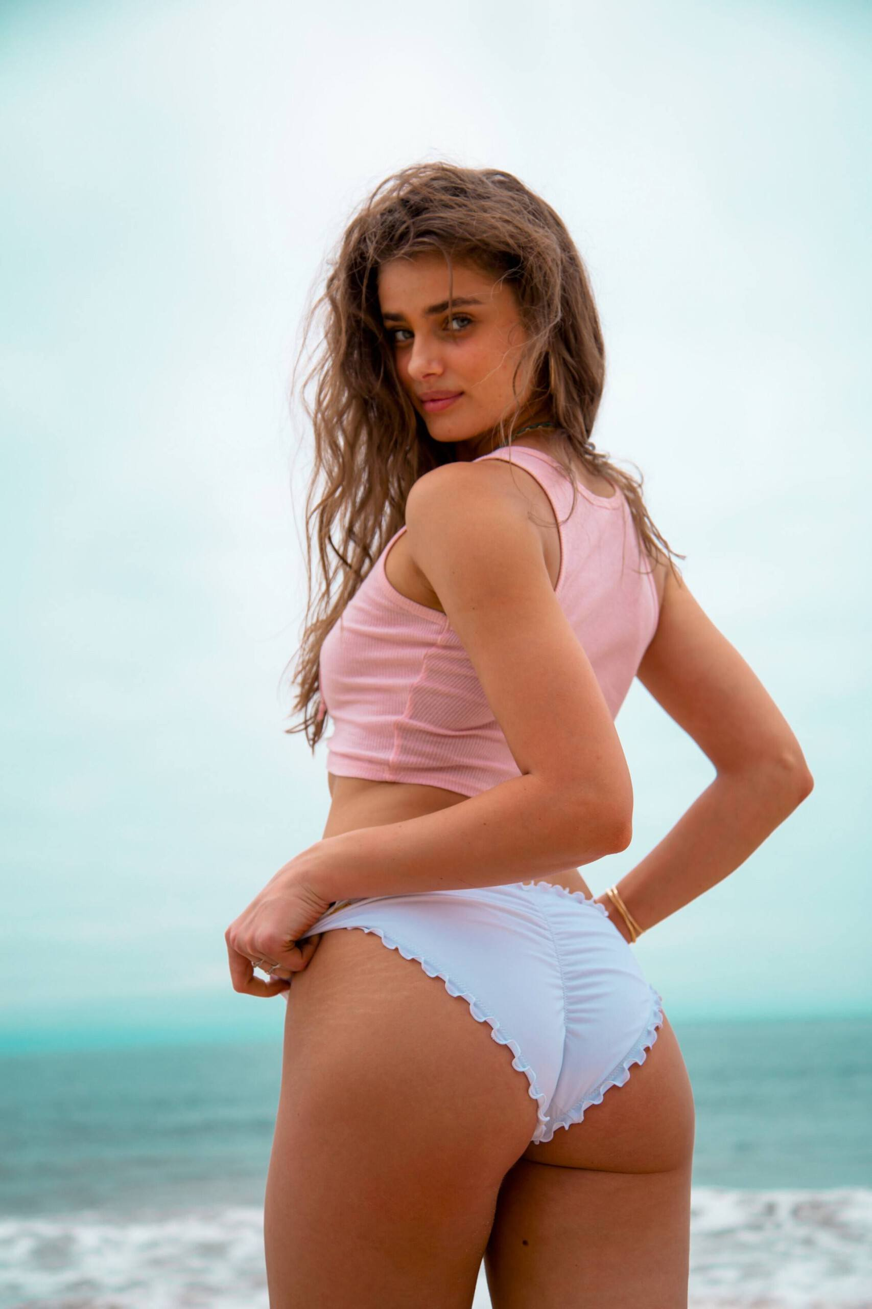 Taylor Hill Ass in Bikini Photoshoot by Logan Rae Hill