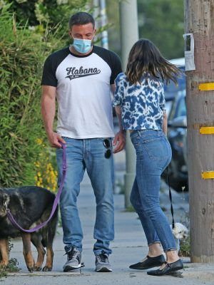 Ana de Armas Out with Ben Affleck in Venice