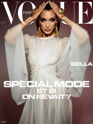 Bella Hadid in Vogue Paris Magazine - May/June 2020