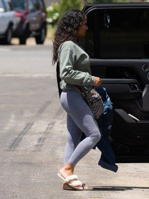 Christina Milian Booty, Out in Los Angeles