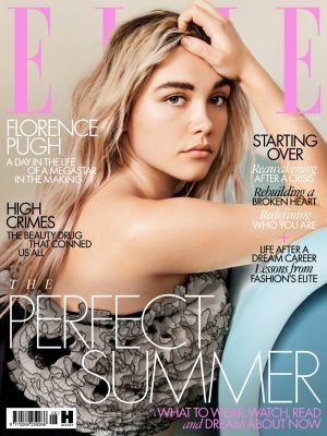 Florence Pugh in Elle UK Magazine - June 2020