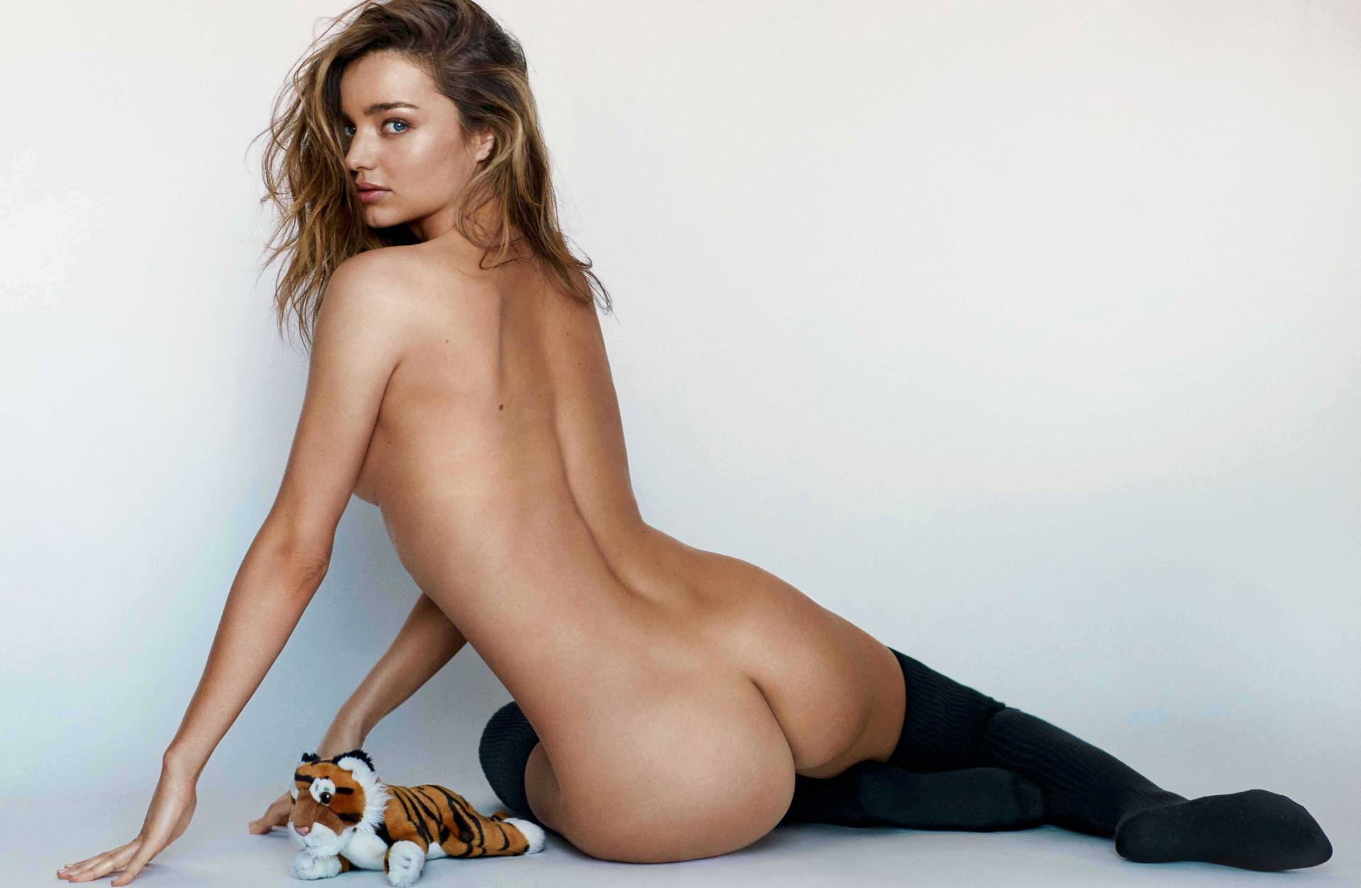 Miranda Kerr Ass and Backless in Photoshoot