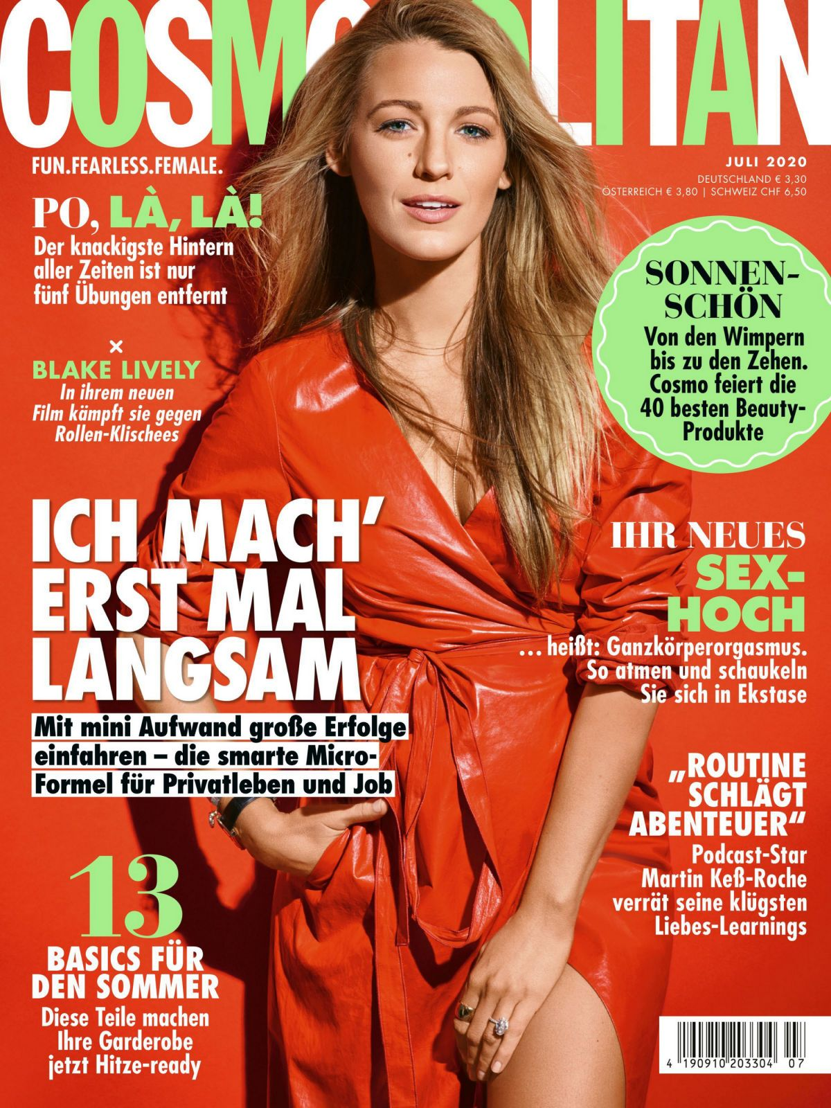 Blake Lively in Cosmopolitan Magazine Germany - July 2020