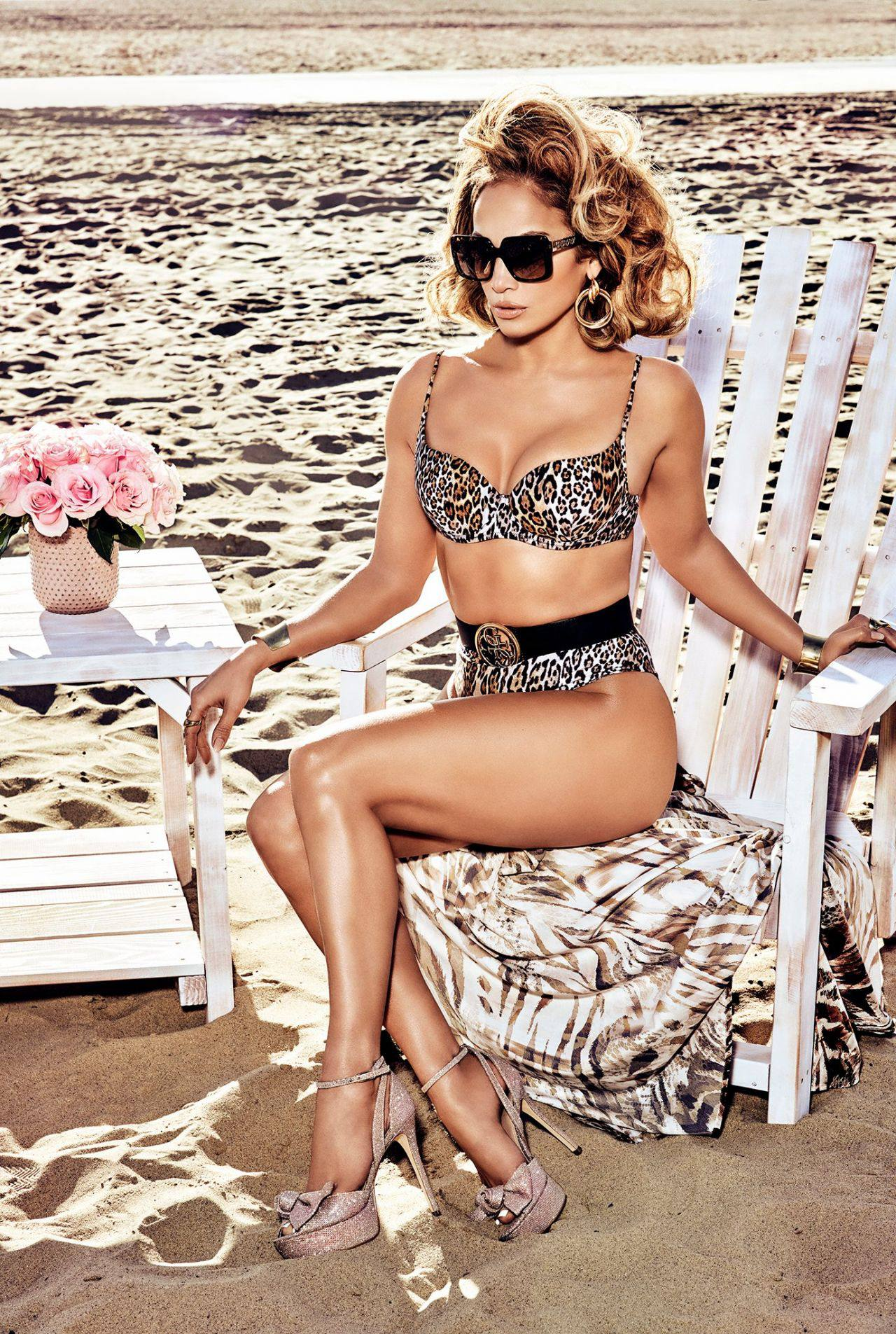 Jennifer Lopez Beautiful Photoshoot for Guess Spring/Summer 2020 Campaign