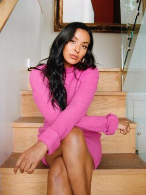Maya Jama Photoshoot for an Interview with the Guardian
