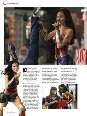 Gal Gadot in Speed Magazine Philippines - July / August 2020