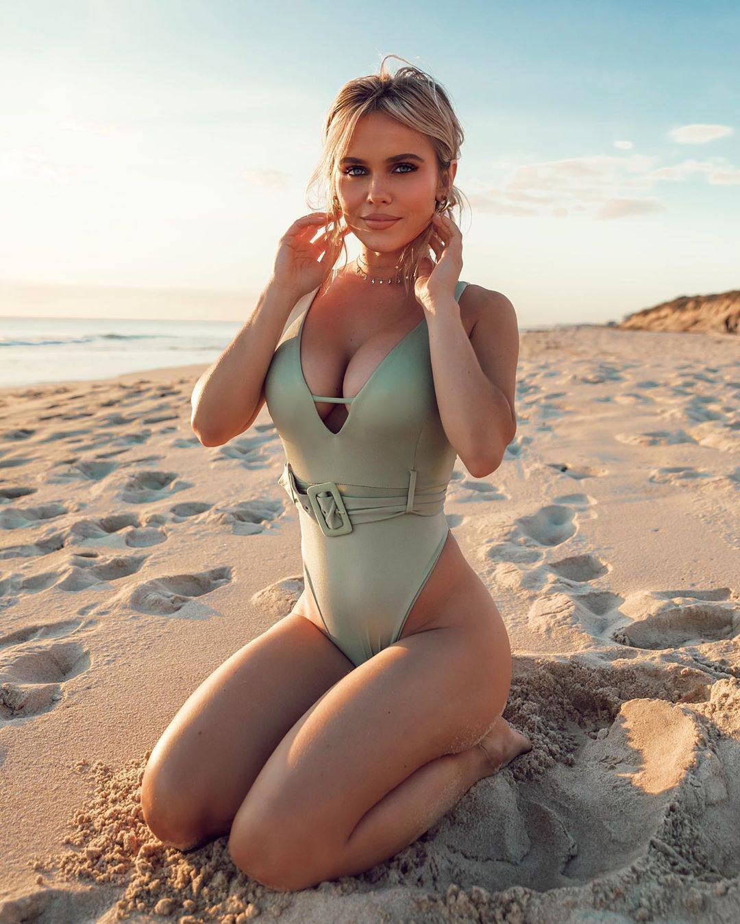 Hilde Osland Photoshoot in Revealing Swimsuit