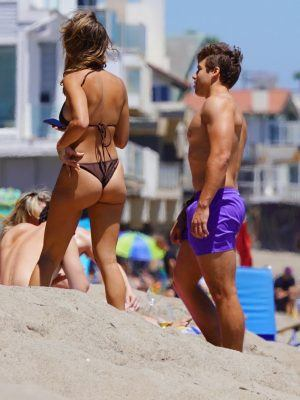 Nicky Dodaj and Boyfriend Joseph Baena Enjoy a Day in Malibu