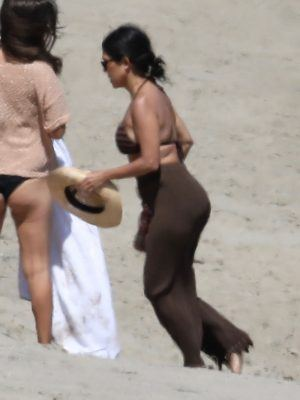 Kourtney Kardashian and ex Scott Disick Enjoy a Family Day in Malibu
