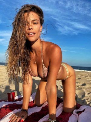 Nina Agdal Doggystyle in Bikini