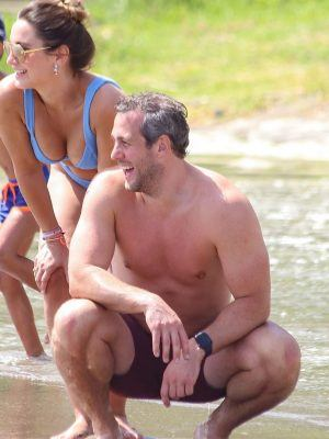 Sam Faiers in Bikini on Vacation at the Beach in Spain