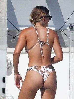 Sofia Richie Booty in Bikini in Malibu