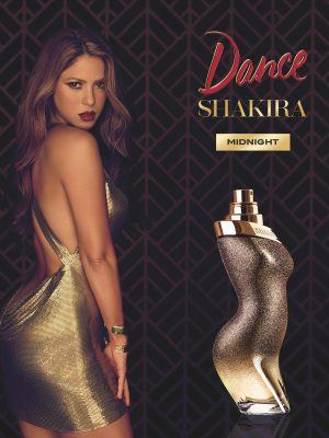 Shakira in Perfume Dance Midnight 2020