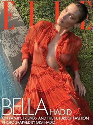 Bella Hadid Braless Photoshoot for Elle Magazine - August 2020